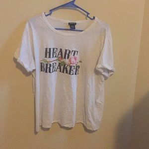 Distressed Heartbreaker Tee